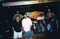 With Salvatore in Key West, Florida, 2001