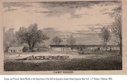 Camp Groce in 1860's