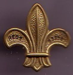 1909 Scout Promise Badge