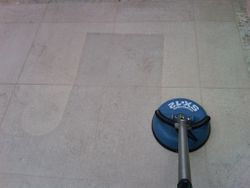 Tile cleaning  (Limestone)