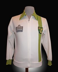 Admiral Match Worn Norwich Tracksuit Top