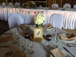 Ivory lace with sandalwood Napkins