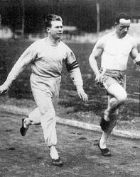 Charley Running W/ Arnaud Tournant