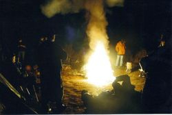 2006 The burning of the crank case