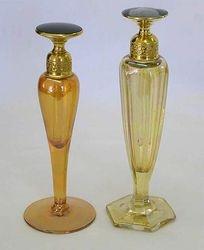 DeVilbiss perfume daubers- marigold signed