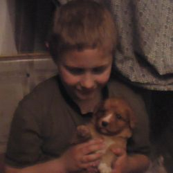 Kyle and Pup