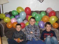 Andrew, Peter & Gideon