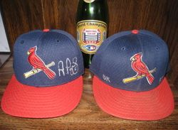 2001 and 2002 Game Used Hats