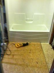 Tub Surround and flooring