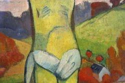 Gauguin, The Yellow Christ, 1889, Buffalo