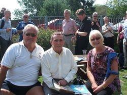 Colin and elen Joynson with Mick McManus