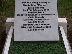 New Tablet added to full memorial