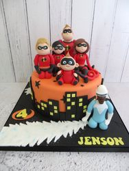 Jenson's Birthday Cake