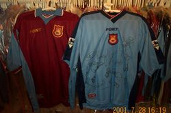 1997/98 home and away made by Pony