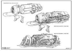 transporter device 1