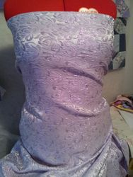 647# Mauve and silver