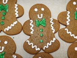 Jumbo gingerbread men $3 each