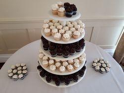 Wedding cupcakes - mini