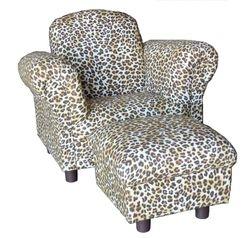 Big Kids Chair & Ottoman
