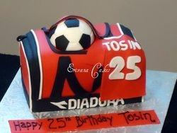 Sports Bag Cake(SP163)