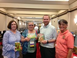 East MS Regional Library Main Branch Quitman, MS.  Director Josh Haidet and some of his branch librarians.