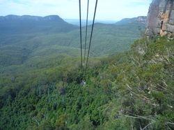 Blue Mountains near Sydney