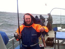 fishing in Ireland galway coco wrass
