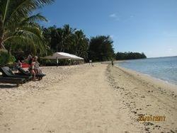 Pacific Resort, Rarotonga plage 1