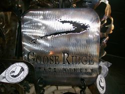 Customized Trivets for Goose Ridge Winery