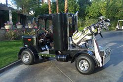 Trucker's Golf Cart