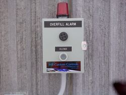 remote overfill alarm
