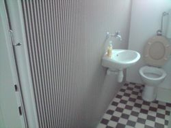Tapeta u wc