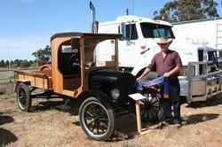 First - Vintage Truck