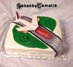 3d Air Plane Cake