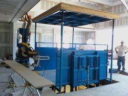 Under Construction working on High Hat Hatch