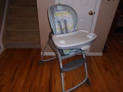 Ingenuity 3-in-1 High Chair - High Chair, Toddler Chair & Booster - $60