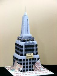 New York Empire State Building Cake