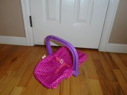 Baby Doll Graco Carrier - $6