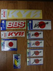 KYB & Japan Stickers