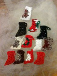 Dozen Christmas Ornaments - Set 10