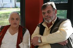 Barbara Schotel and Mannfred Hinsch