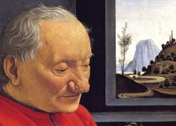 Ghirlandaio, Old Man and His Grandson, Louvre