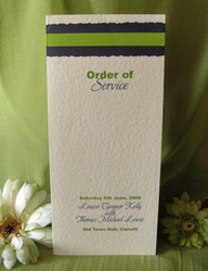 Lime Order of Service