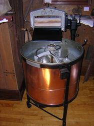 Easy copper washing machine