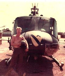 1st Cavalry Division Huey: