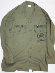 Navy Seabee, PO.2 Miller: