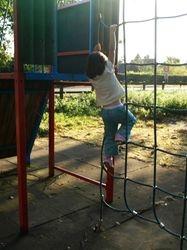 Climbing the rigging