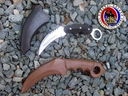 Custom Made Karambit and Wooden Karambit Trainer