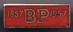 1957 Baden-Powell Anniversary Badge Metal