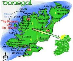 Map of Donegal
